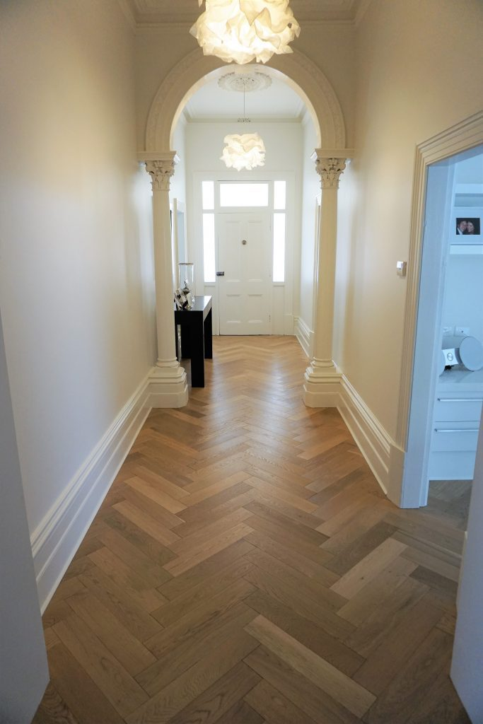 Engineered Herringbone Parquetry